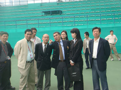 Руководство ASTF посетило Спорт центр.